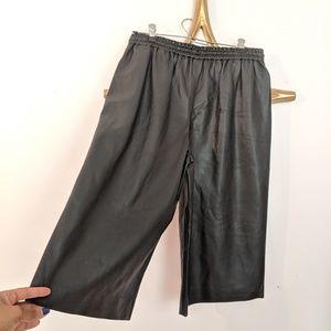 Zara Pants - Zara vegan leather gauchos